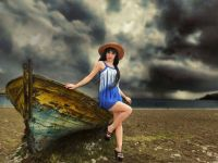 Sanat Dünyasının Aranılan Fotomodeli  Berrin Direk Dobra Açıklamalar!