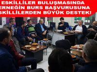 Eskililer Derneği'nin Burs Başvurusuna Eskilli vatandaşlardan büyük destek!