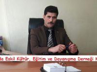 """Eskilder Başkanı Süleyman Altan, """"10 Ocak Çalışan Gazeteciler Günü kutladı"""""""