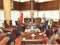 İnşaat Mühendisleri Odası Yönetiminden Başkan Hançerli'ye Ziyaret!