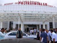Aksaray Eğitim ve Araştırma Hastanesi gün sayıyor